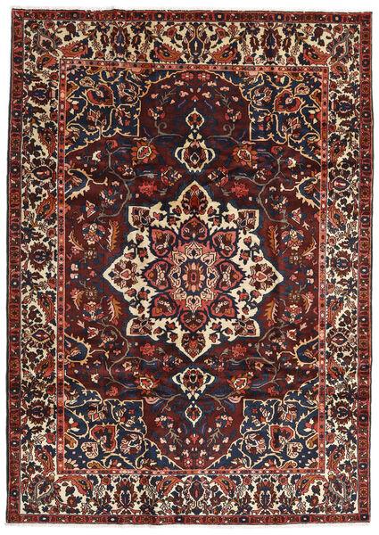 Bakhtiar Matto 217X306 Itämainen Käsinsolmittu Tummanruskea/Tummanpunainen (Villa, Persia/Iran)