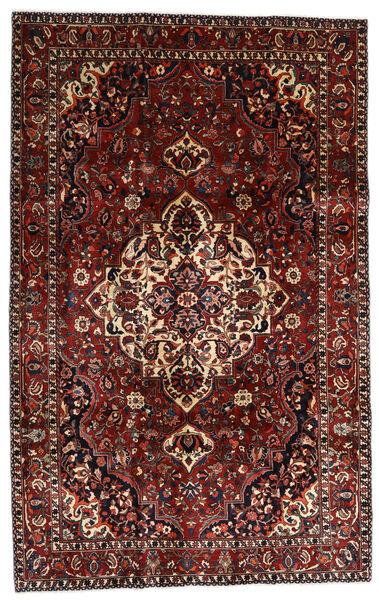 Bakhtiar Matto 210X328 Itämainen Käsinsolmittu Tummanpunainen/Tummanruskea (Villa, Persia/Iran)