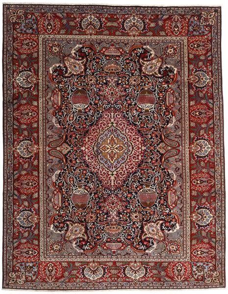 Kashmar Matto 296X376 Itämainen Käsinsolmittu Tummanpunainen/Tummanharmaa Isot (Villa, Persia/Iran)
