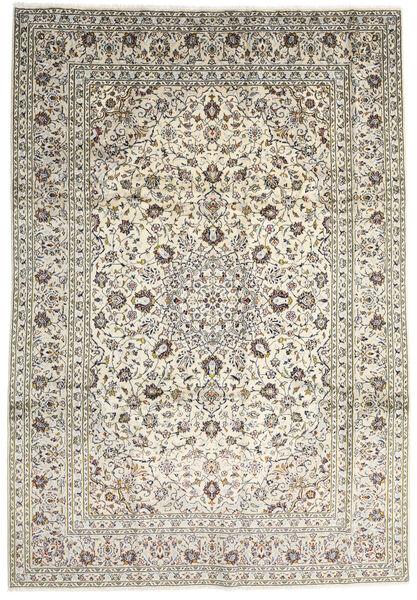 Keshan Matto 247X355 Itämainen Käsinsolmittu Beige/Vaaleanharmaa (Villa, Persia/Iran)
