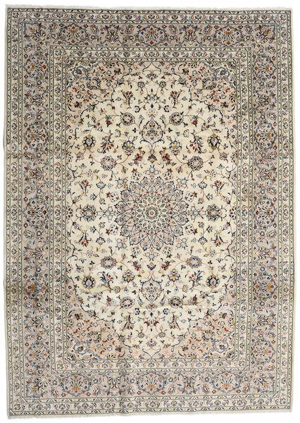 Keshan Matto 254X353 Itämainen Käsinsolmittu Vaaleanharmaa/Beige/Tummanharmaa Isot (Villa, Persia/Iran)