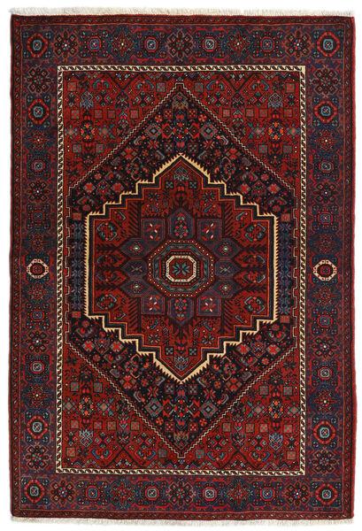 Gholtogh Matto 104X152 Itämainen Käsinsolmittu Tummanpunainen (Villa, Persia/Iran)