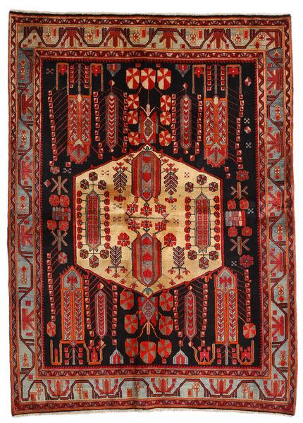 Afshar Matto 171X234 Itämainen Käsinsolmittu Tummanpunainen/Tummanruskea (Villa, Persia/Iran)