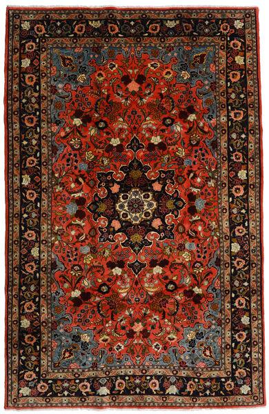 Mehraban Matto 188X290 Itämainen Käsinsolmittu Tummanpunainen/Ruoste (Villa, Persia/Iran)