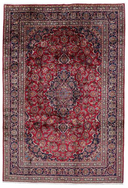 Mashad Matto 199X290 Itämainen Käsinsolmittu Tummanruskea/Tummanvioletti (Villa, Persia/Iran)