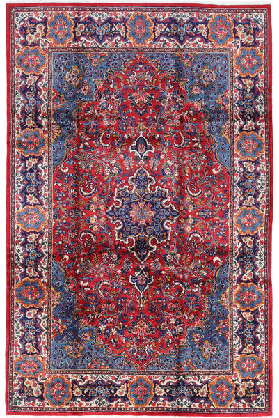 Golpayegan Matto 210X322 Itämainen Käsinsolmittu Tummanvioletti/Vaaleanvioletti (Villa, Persia/Iran)