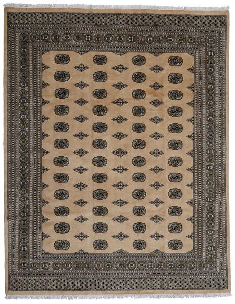 Pakistan Bokhara 2Ply Matto 246X312 Itämainen Käsinsolmittu Tummanharmaa/Vaaleanruskea (Villa, Pakistan)