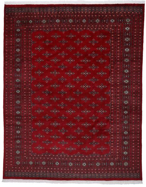 Pakistan Bokhara 2Ply Matto 241X303 Itämainen Käsinsolmittu Tummanpunainen/Tummanruskea (Villa, Pakistan)