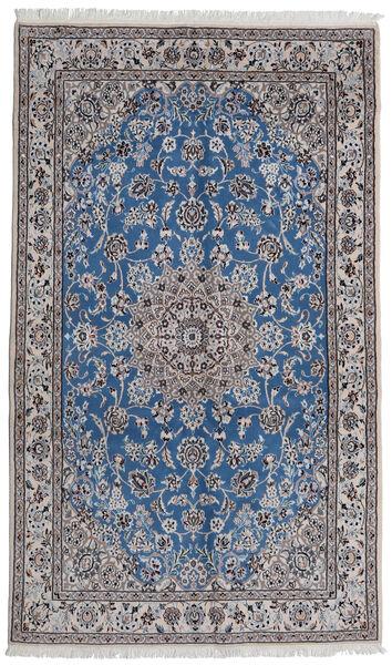 Nain 9La Matto 145X242 Itämainen Käsinsolmittu Vaaleanharmaa/Vaaleanvioletti (Villa/Silkki, Persia/Iran)