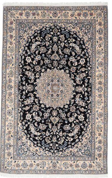 Nain 9La Matto 156X248 Itämainen Käsinsolmittu Vaaleanharmaa/Tummanharmaa (Villa/Silkki, Persia/Iran)