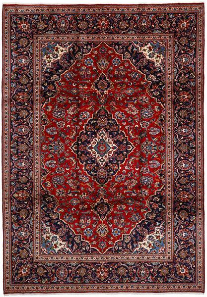 Keshan Matto 238X350 Itämainen Käsinsolmittu Tummanpunainen/Tummanvioletti (Villa, Persia/Iran)