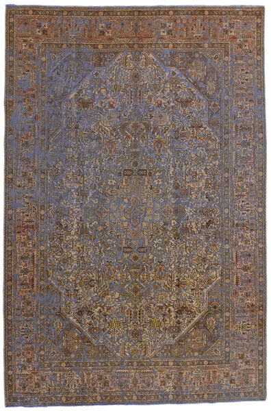 Vintage Heritage Matto 195X294 Moderni Käsinsolmittu Vaaleanruskea/Ruskea (Villa, Persia/Iran)