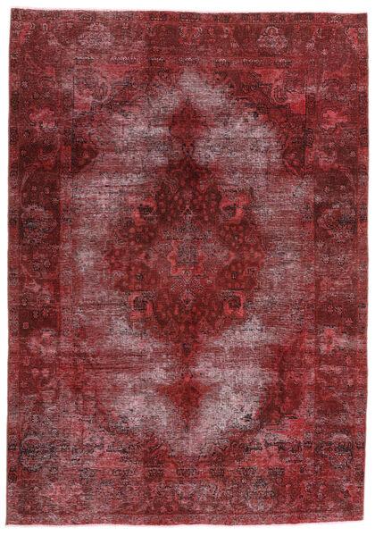 Vintage Heritage Matto 198X284 Moderni Käsinsolmittu Tummanpunainen/Violetti (Villa, Persia/Iran)