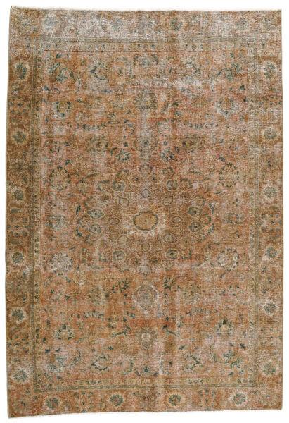 Vintage Heritage Matto 186X270 Moderni Käsinsolmittu Vaaleanruskea/Vaaleanharmaa (Villa, Persia/Iran)