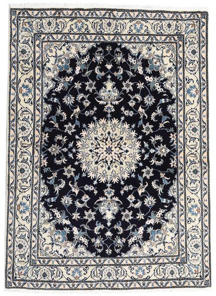 Nain Matto 169X229 Itämainen Käsinsolmittu Tummansininen/Vaaleanharmaa (Villa, Persia/Iran)