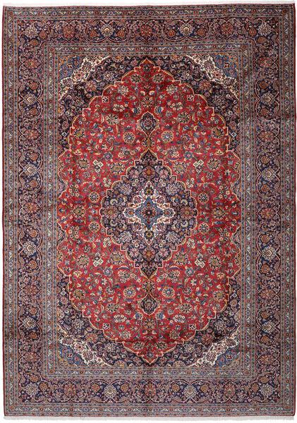 Keshan Matto 297X415 Itämainen Käsinsolmittu Vaaleanharmaa/Tummanpunainen/Tummanvioletti Isot (Villa, Persia/Iran)