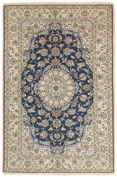 Nain 9La Matto 158X244 Itämainen Käsinsolmittu Vaaleanharmaa/Beige (Villa/Silkki, Persia/Iran)