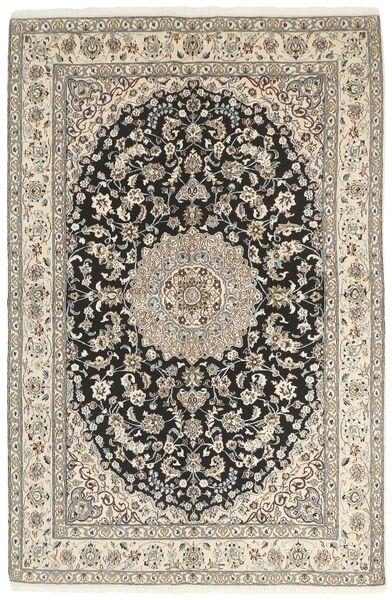 Nain 9La Matto 158X242 Itämainen Käsinsolmittu Vaaleanharmaa/Beige (Villa/Silkki, Persia/Iran)