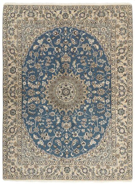 Nain 9La Matto 149X205 Itämainen Käsinsolmittu Vaaleanharmaa/Tummanharmaa (Villa/Silkki, Persia/Iran)