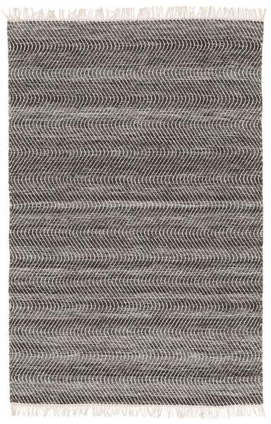 Chinara - Musta/Valkoinen Matto 200X300 Moderni Käsinkudottu Vaaleanharmaa/Tummanharmaa (Villa, Intia)