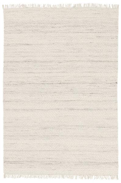 Chinara - Natural/Valkoinen Matto 250X350 Moderni Käsinkudottu Vaaleanharmaa/Valkoinen/Creme Isot (Villa, Intia)