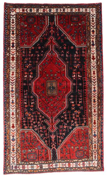 Toiserkan Matto 126X214 Itämainen Käsinsolmittu Tummanpunainen/Ruoste (Villa, Persia/Iran)
