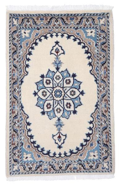 Nain Matto 69X98 Itämainen Käsinsolmittu Beige/Vaaleanharmaa (Villa, Persia/Iran)