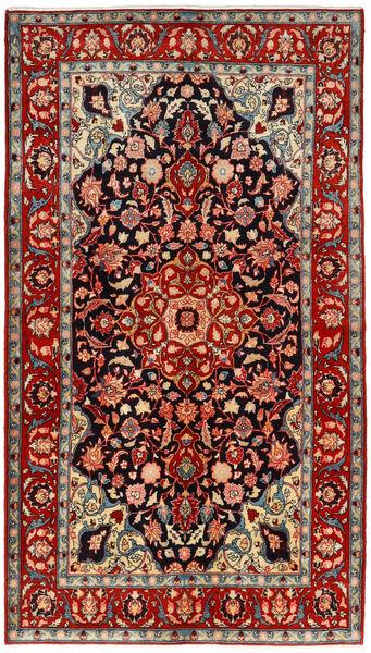 Mahal Matto 134X240 Itämainen Käsinsolmittu Tummanpunainen/Ruoste (Villa, Persia/Iran)