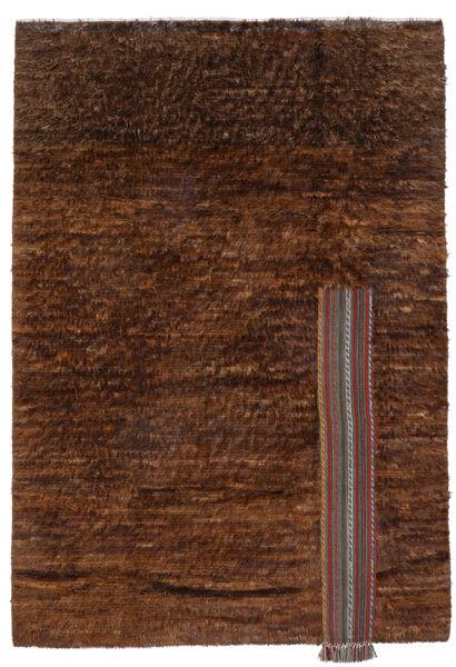 Moroccan Berber - Afghanistan Matto 194X281 Moderni Käsinsolmittu Tummanruskea/Ruskea (Villa, Afganistan)