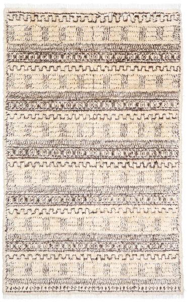 Moroccan Berber - Afghanistan Matto 187X302 Moderni Käsinsolmittu Beige/Vaaleanharmaa (Villa, Afganistan)