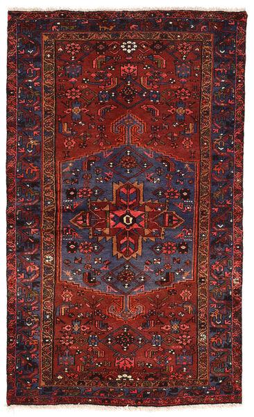 Zanjan Matto 130X218 Itämainen Käsinsolmittu Tummanpunainen (Villa, Persia/Iran)