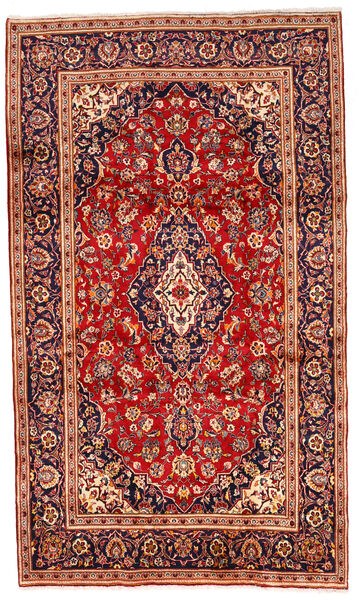 Keshan Matto 200X340 Itämainen Käsinsolmittu Ruoste/Tummanpunainen (Villa, Persia/Iran)
