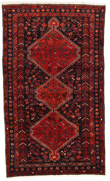Hamadan Matto 142X244 Itämainen Käsinsolmittu Tummanpunainen/Ruoste (Villa, Persia/Iran)