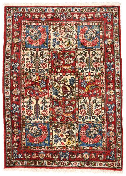 Bakhtiar Collectible Matto 109X150 Itämainen Käsinsolmittu Tummanruskea/Ruoste (Villa, Persia/Iran)