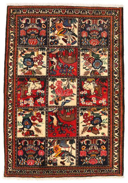 Bakhtiar Collectible Matto 113X161 Itämainen Käsinsolmittu Tummanruskea/Punainen (Villa, Persia/Iran)