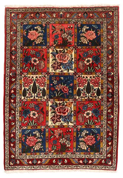 Bakhtiar Collectible Matto 111X156 Itämainen Käsinsolmittu Tummanpunainen/Musta (Villa, Persia/Iran)