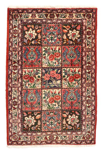 Bakhtiar Collectible Matto 105X158 Itämainen Käsinsolmittu Tummanpunainen/Tummanharmaa (Villa, Persia/Iran)