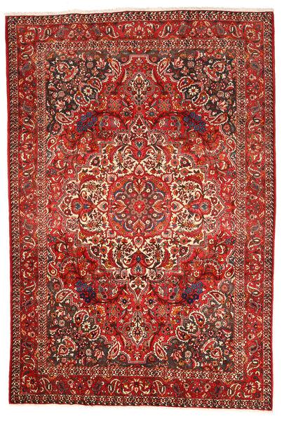 Bakhtiar Collectible Matto 212X311 Itämainen Käsinsolmittu Tummanpunainen/Ruoste (Villa, Persia/Iran)
