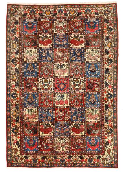 Bakhtiar Collectible Matto 205X300 Itämainen Käsinsolmittu Tummanruskea (Villa, Persia/Iran)