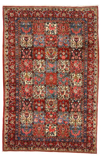 Bakhtiar Collectible Matto 208X318 Itämainen Käsinsolmittu Tummanpunainen/Tummanruskea (Villa, Persia/Iran)