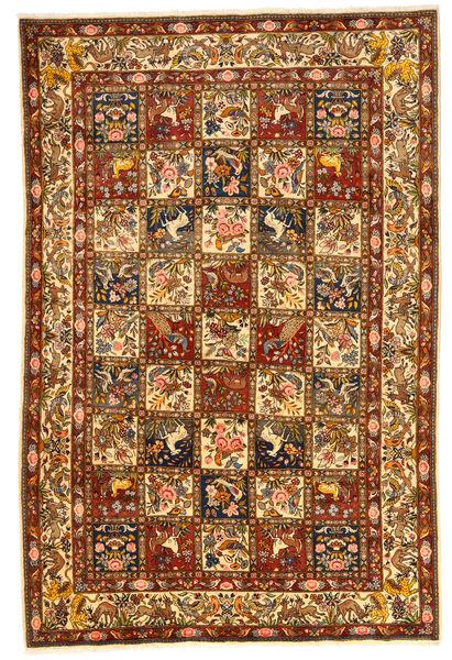 Bakhtiar Collectible Matto 207X303 Itämainen Käsinsolmittu Ruskea/Beige (Villa, Persia/Iran)
