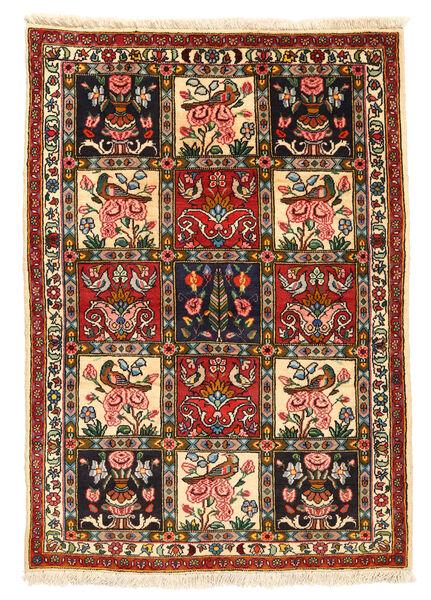 Bakhtiar Collectible Matto 107X151 Itämainen Käsinsolmittu Musta/Beige (Villa, Persia/Iran)