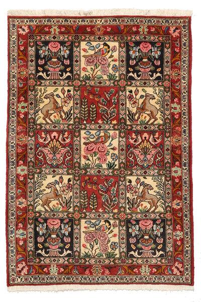 Bakhtiar Collectible Matto 103X150 Itämainen Käsinsolmittu Tummanruskea/Vaaleanruskea (Villa, Persia/Iran)