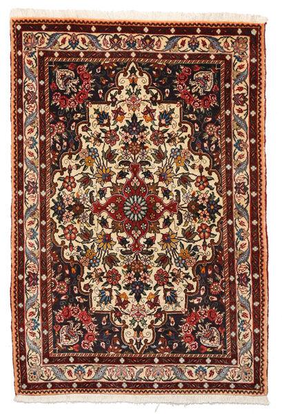 Bakhtiar Collectible Matto 105X156 Itämainen Käsinsolmittu Tummanruskea/Tummanpunainen (Villa, Persia/Iran)