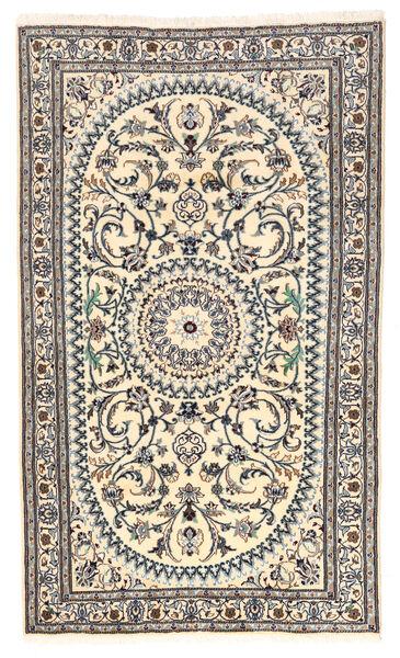 Nain Matto 154X260 Itämainen Käsinsolmittu Beige/Vaaleanharmaa (Villa, Persia/Iran)