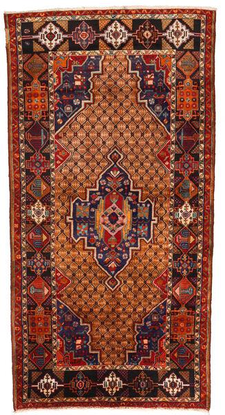 Koliai Matto 130X255 Itämainen Käsinsolmittu Tummanruskea/Ruoste (Villa, Persia/Iran)