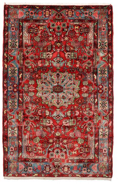 Nahavand Old Matto 153X243 Itämainen Käsinsolmittu Tummanruskea/Musta (Villa, Persia/Iran)