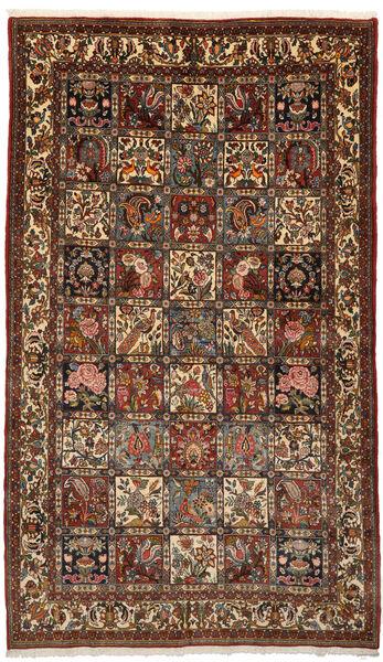 Bakhtiar Collectible Matto 153X260 Itämainen Käsinsolmittu Tummanruskea/Tummanpunainen (Villa, Persia/Iran)
