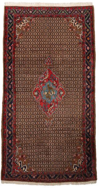 Koliai Matto 150X286 Itämainen Käsinsolmittu Käytävämatto Tummanruskea/Tummanpunainen (Villa, Persia/Iran)
