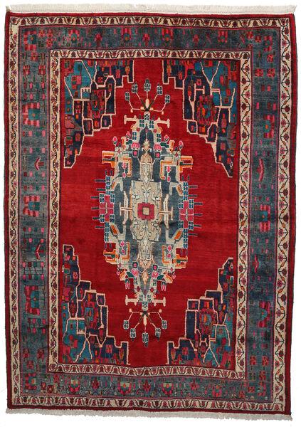 Afshar Matto 180X250 Itämainen Käsinsolmittu Tummansininen/Tummanpunainen (Villa, Persia/Iran)